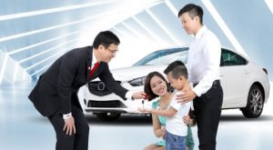 mua ô tô trả góp cùng techcombank